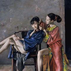 Een kruising tussen Oosterse en Westerse kunst… ontdek het werk van Lu Jian Jun