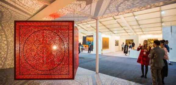 De vinger aan de pols: wat er zoal te zien was op de Indian art fair 2018