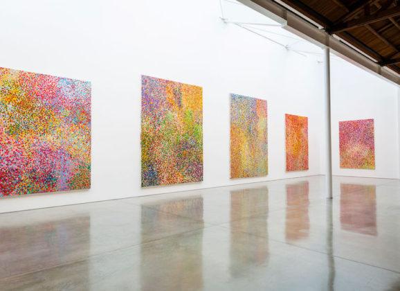 'The veil paintings', nieuw werk van Damien Hirst, met een bijzonder kantje…