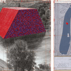 The London Mastaba, een nieuw project van Christo opent vandaag