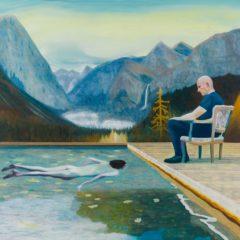 'Another portrait of an artist', Hans Vandekerckhove bij Art4, Moskou