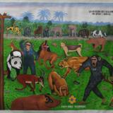 Congolese volksschilderkunst in de spotlights bij Mu.ZEE