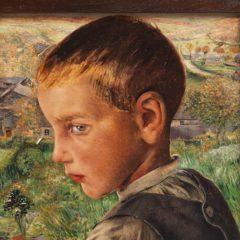 'Een ander realisme', uitzonderlijke tentoonstelling van Léon Frederic in het Courbet Museum, Ornans