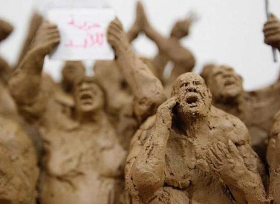 De trauma's van de oorlog, in kunst gegoten… Ontdek het werk van de Syriër Khaled Dawwa