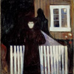 Moonlight, Marlene Dumas cureert tentoonstelling met eigen werk & dat van Edvard Munch