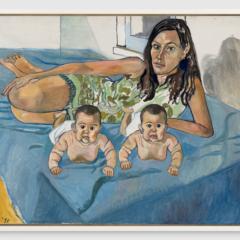 Familieportretten, landschappen en stillevens van Alice Neel, vanaf 28 oktober bij Xavier Hufkens