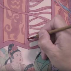 In de studio met Ma Xinle, traditie en moderniteit die de gevoelens beroeren