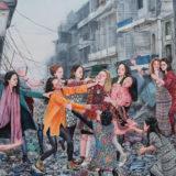 Nazanin Pouyandeh, de ster op de kersverse kunstbeurs Galeristes in Parijs
