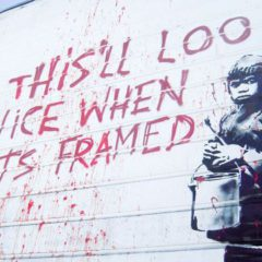 Saving Banksy… wanneer street art mainstream wordt.