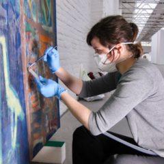 Voor en na bij kunst-restaurateur Karolien Withofs