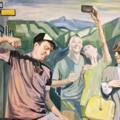 'Yellow Brick Road', van Kristof Van Heeschvelde, een raadselachtig werk dat onmiddellijk de aandacht trekt, en houdt