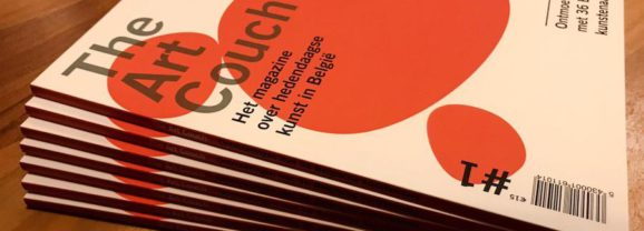 Een gloednieuw magazine over hedendaagse kunst in België