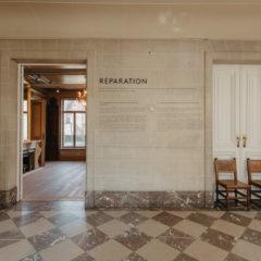 'Réparation', een beladen begrip waarrond acht kunstenaars hun werk tonen