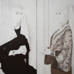 Het ontstaan van een hedendaags Vlaams-primitief meesterwerk, ontdek de 'unfinished Flemish Panels' van Daniela Chirion