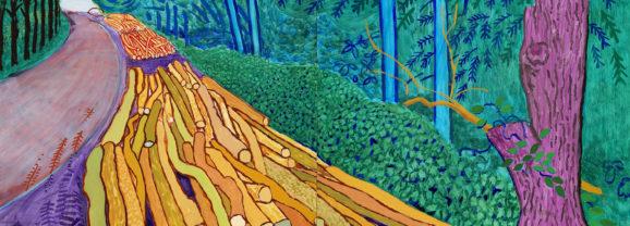 Verenigd in de liefde voor de natuur: Hockney en Van Gogh in Amsterdam