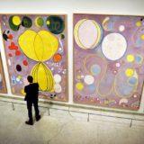 Record aantal bezoekers voor Hilma af Klint in het Guggenheim, NY