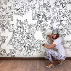 Joke Neyrinck, een doodle prinses in een doodle Nirvana