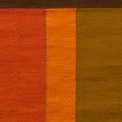 Geweven tijd. De imponerende doeken van Ria Bosman.