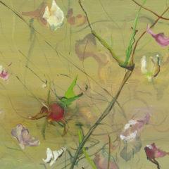 Schilderijen als waterpartijen. Het werk van Stéphanie Leblon