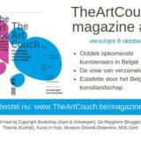 #3 van TheArtCouch magazine verschijnt op 8 oktober!
