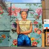 Frida Kahlo, een onuitputtelijke inspiratiebron voor street artists