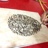 Mohammed Tifardine, een hedendaagse, innoverende kalligraaf.