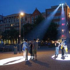 Track Tracy, twee Belgische kunstenaars op de Oslo Night in het Haus der Elektronische Kunste, Basel