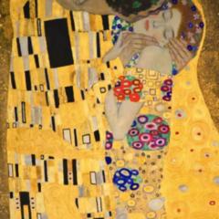 Deep-dive in een kunstwerk: 'De Kus' van Gustav Klimt