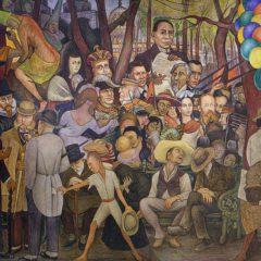 Inzoomen op een meesterwerk: Sueño de una Tarde Dominical en la Alameda Central van Diego Rivera