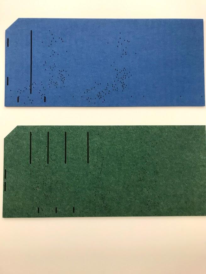 Gabriel Kuri - Felt Data Cards (2019)