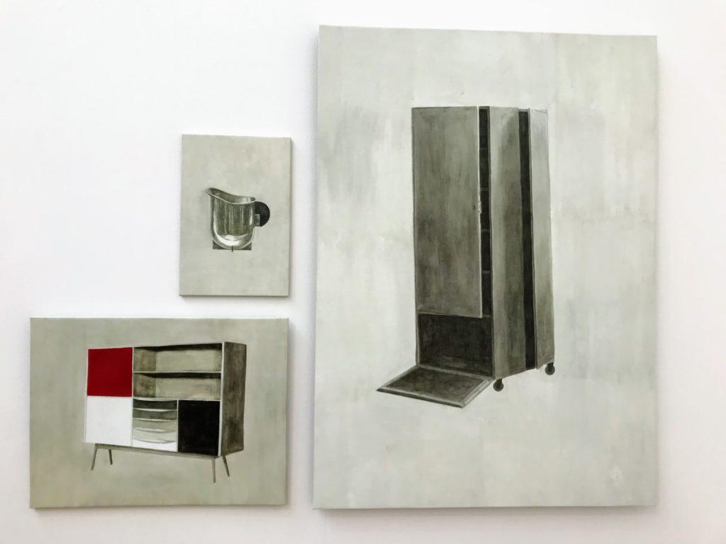 Gonzalo Elvira - B.A 014 (rechts), B.A 012 (linksonder) en B.A 006 (linksboven) (2019)