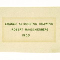 Focus op een meesterwerk: Robert Rauschenbergs 'Erased Willem de Kooning'