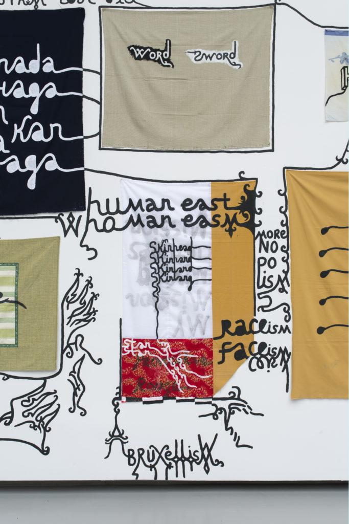 Babi Badalov - Soul Mobilisation (detail) © Isabelle Arthuis Fondation d'entreprise Hermès