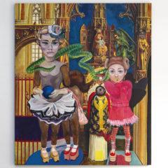 """Focus op een kunstwerk: Nancy Slangen """"Cosplayer #9"""", een ondoordringbaar mysterie"""