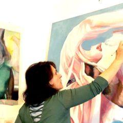 """""""Pretty Chimeras"""", de zoektocht naar het vrouwelijke in het werk van  Nathalie Pirotte bij HUSK Gallery"""