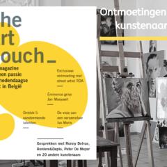 Nieuwe ontdekkingen in het kunstlandschap! TheArtCouch Magazine #4 is nu beschikbaar