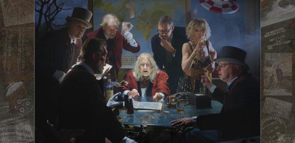 Exclusief: Panamarenko's 'Around the World in 80 Years' door Bart Ramakers