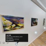 Virtual Reality tentoonstellingen (#2): Jan Valik bij HUSK Gallery