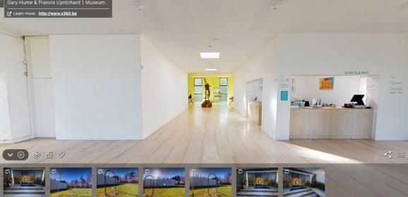 Virtual Reality tentoonstellingen (#4): Gary Hume & Francis Uprichard in het Museum Dhondt-Dhaenens