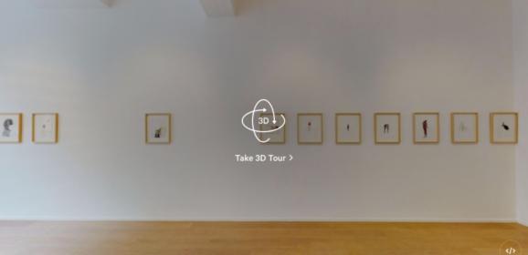 Virtual Reality tentoonstellingen (#3): 'Archive of thoughts', Ronny Delrue bij Marie-Laure Fleisch