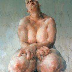 Focus op een meesterwerk: Jenny Saville's 'Propped', het meest iconische werk is uit de YBA-beweging