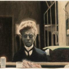 Léon Spilliaerts werk op papier in het Royal Academy of Art, een virtuele rondleiding