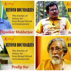 Vier meesters van de hedendaagse Indische kunst