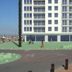 Knokke-Heist plaatst 22 meter hoog kunstwerk van Thomas Lerooy op Zeedijk