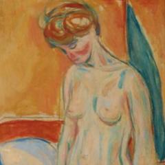 Focus op een meesterwerk: Edvard Munchs 'Standing nude'