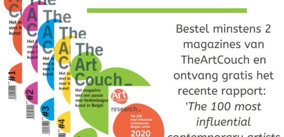 Zomeractie: bestel 2 of meer magazines van TheArtCouch en krijg gratis rapport!