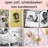 Open call: schetsboeken van kunstenaars!