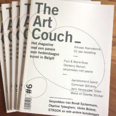 TheArtCouch magazine #6, ontdek vanuit uw sofa nieuwe kunst!