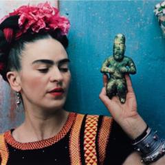 Een zeldzame blik in de leefwereld van Frida Kahlo