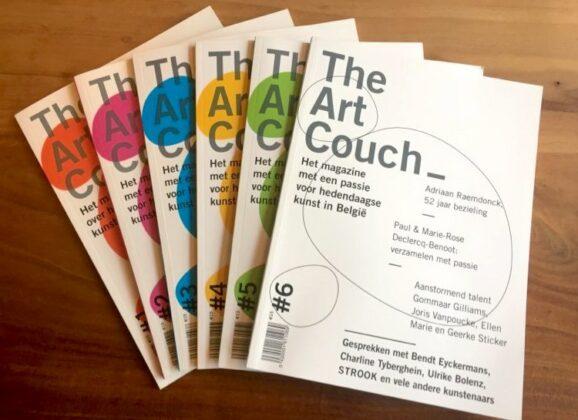 Vervolledig jouw verzameling TheArtCouch magazine, of geef het als cadeau voor Kerst!